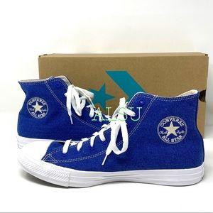 Converse Ctas High Canvas Rush Blue Men's Sneakers